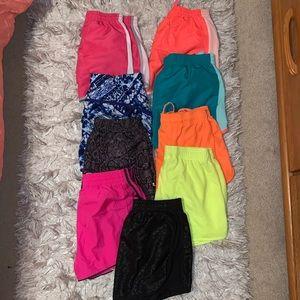 Running shorts bundle XS